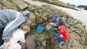 Crabbing with Grandma & Grandad